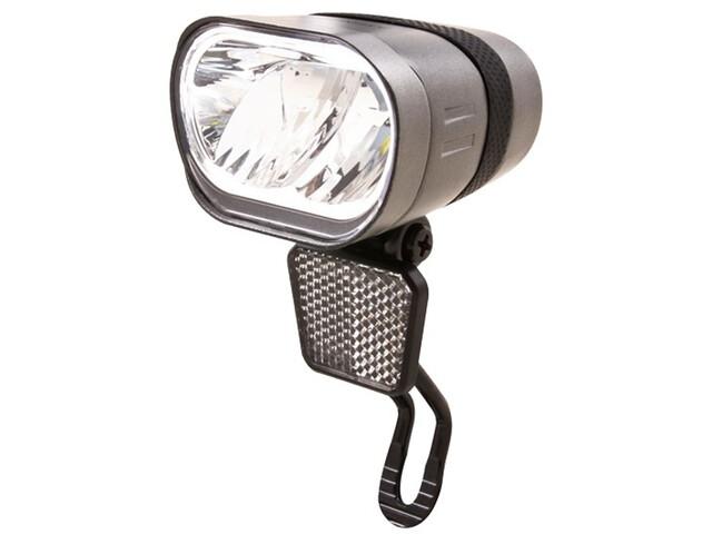 spanninga Axendo 60 XDO Dynamo Front Light StVZO, silver